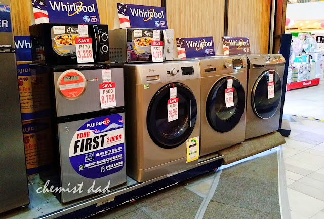 Appliance expo, Anson's, Appliances, Trinoma, washing machines