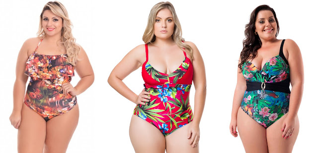 Maiô Body plus size