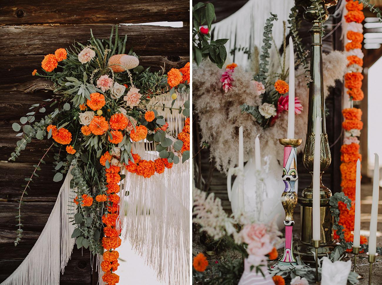 Claves decorativas para una Boda Boho.