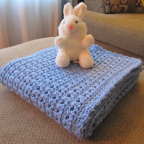 One Skein Baby Blanket - Free Pattern