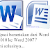 Tutorial ampuh mengatasi spasi berantakan ketika dari Word 2010 ke Word 2007