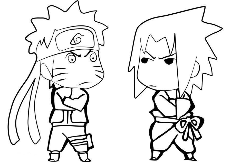Contoh Gambar Karikatur Naruto