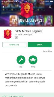 VPN Mobile Legend