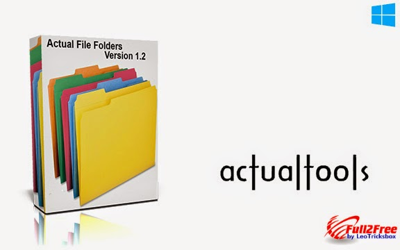Software : Actual File Folders 1.2 Multilingual + Crack