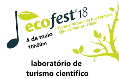Vai-se falar de Turismo Científico no Parque Natural da Ria Formosa