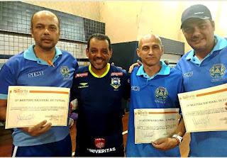 Professores de Registro-SP se capacitam com técnico da Seleção Brasileira de Futsal