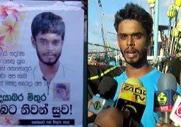 Galle fishing man  Ishan Manjula, comes back to life