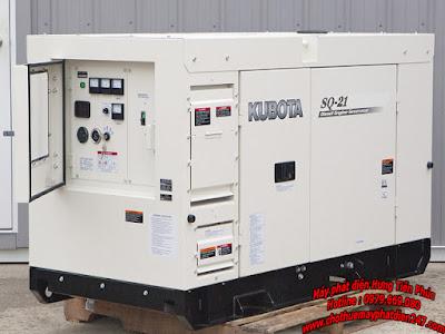 Máy phát điện Kubota 20.6kva SQ-21