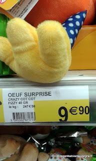 Pâques œuf surprise