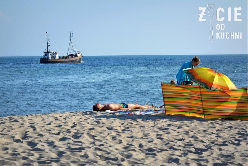 plaza, hel, koc na plazy, plazowanie, plazowicze, najpiekniejsza plaza