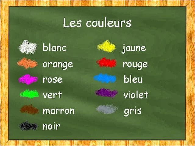 Resultado de imagen de exercices couleurs online
