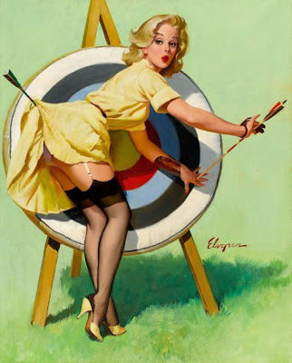 Beautiful Pin-up Paintings by Gil-Elvgren
