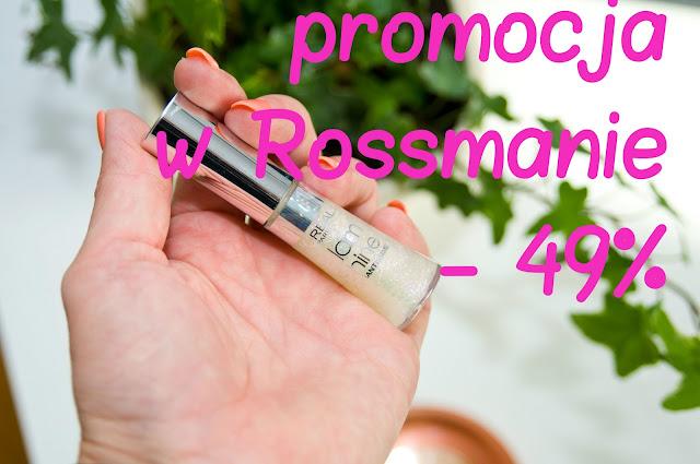 promocja w Rossmanie na szminki, błyszczyki i podkłady