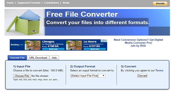 برنامج Free File Converter