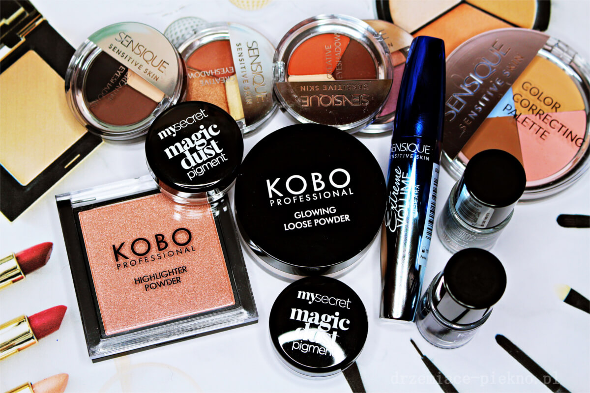 Nowości do makijażu w drogeriach Natura - Kobo Professional, Sensique oraz My Secret