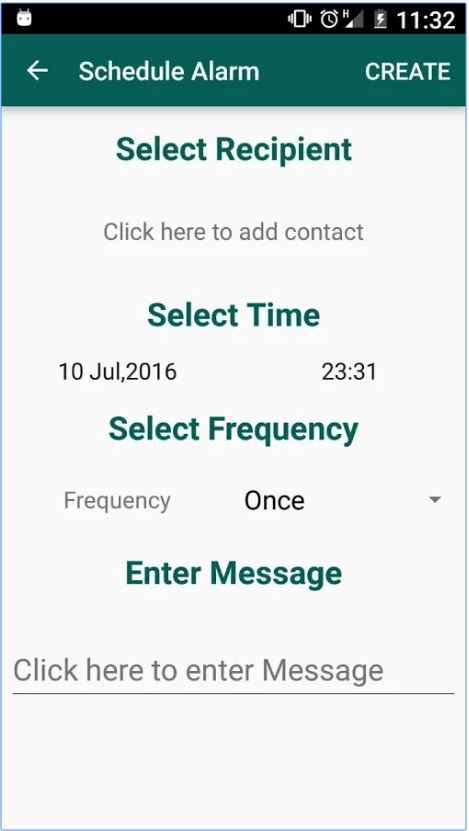 Scheduler Message Whatsapp