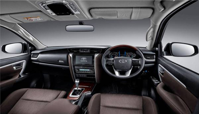 Interior All New Fortuner