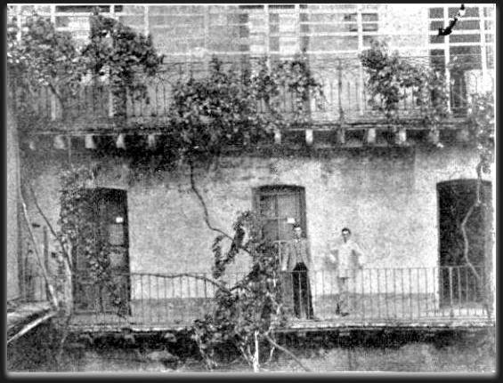 La parra de la casa de juan manuel de rozas donde estaba for Oficina de correos las rozas