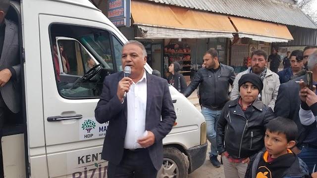 Çakmak: HDP dağıldı diyenlere halk burada