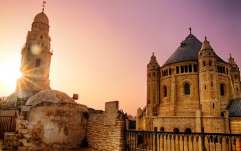 Wallpaper: The Dormition Abbey