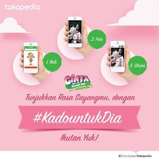 Kontes Foto Kado Untuk Dia Tokopedia Berhadiah Fujifilm XA-2, Instax Mini 8 & Asus zenfone 3