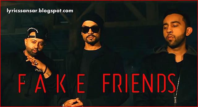 FAKE FRIENDS LYRICS : The PropheC & Haji Springer