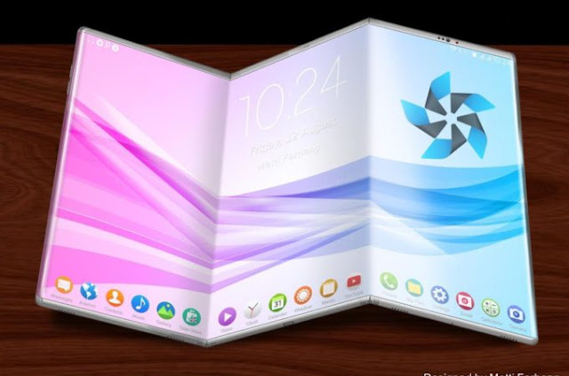 Samsung Foldable Device Concept Design From the Project Valley Project are Astonishing and Awe-Inspiring