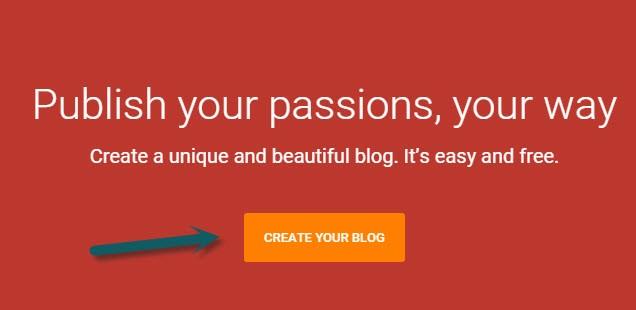 Cara Membuat Blog Gratis Di Blogger bagian 1