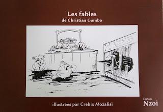 Les Fables de Christian Gombo, illustrées par Crebix Mozalisi