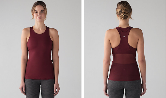 lululemon body-con-tank deep-rouge