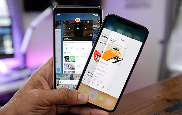 Why switched from Android to iOS