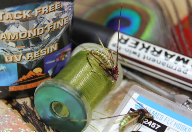 Fly Tying Nation Sparkling Pupae