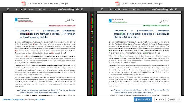 Comparación Versión 0 y versión 1 revPFG