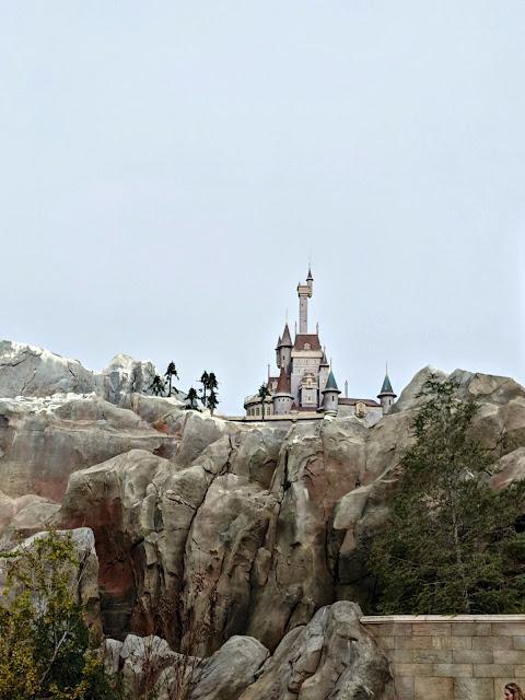 Celebrating my Birthday at the Magic Kingdom - The Beast's Castle at Magic Kingdom