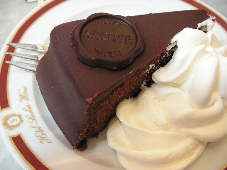 Original Sacher-torte - Fooding Around