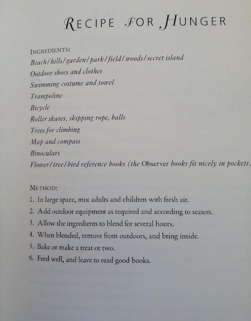 recipe for hunger