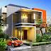 Contoh Desain Rumah Lantai 2 Minimalis Tampak Depan