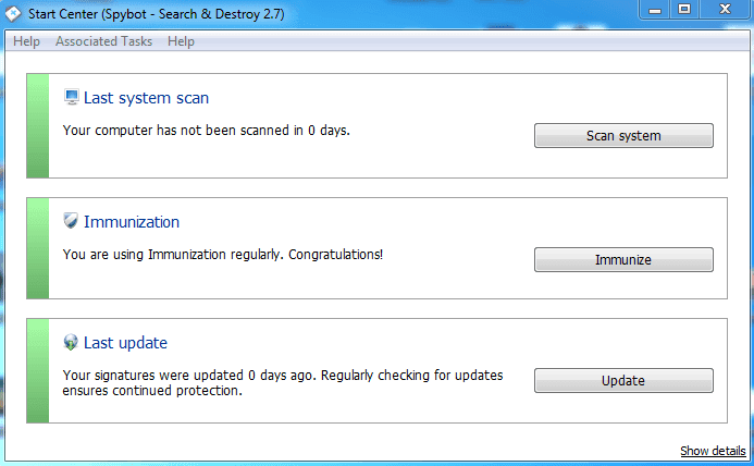 spybot search and destroy download windows xp