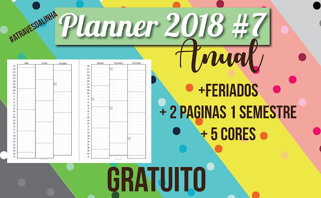 planner 2018 7 future log planejamento anual gratuito para download atraves da linha. Black Bedroom Furniture Sets. Home Design Ideas