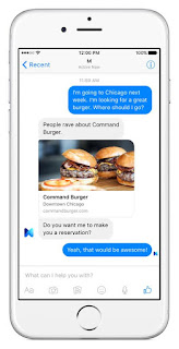 Facebook testing AI-powered 'M' personal digital assistant inside Messenger