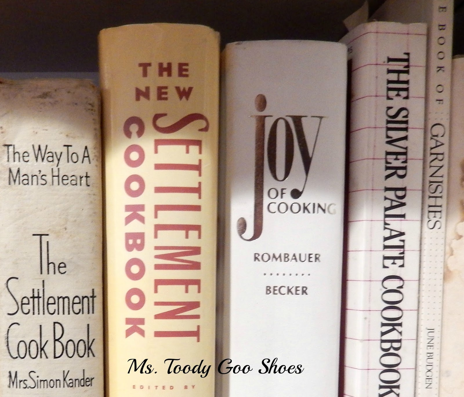 Sprucing Up a Bookcase --- by Ms. Toody Goo Shoes
