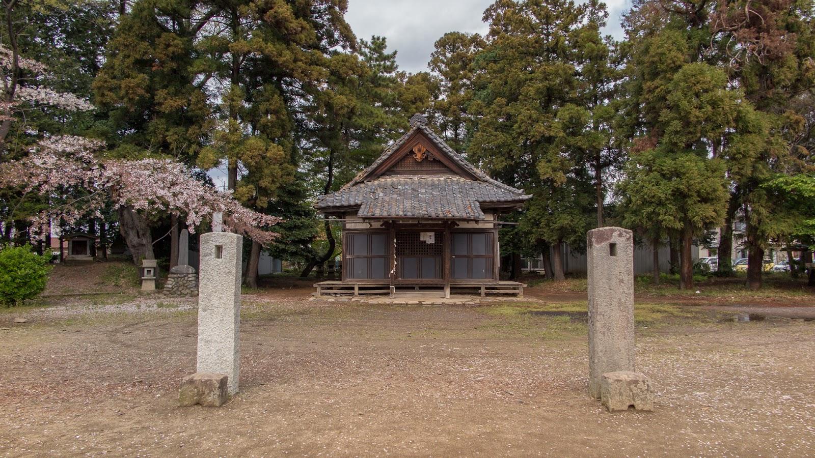 Nagara Shrine, Oizumi, Gunma Prefecture.