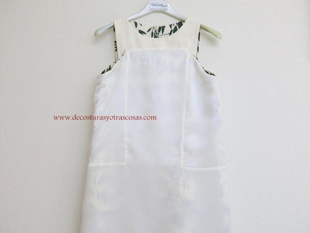como hacer un vestido de sisas cuadradas