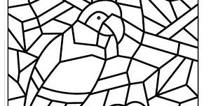 Desenho De Mosaico Para Colorir E Imprimir Mmod