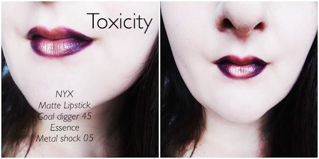 Essence Toxicity Metallic Lipstick
