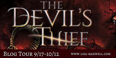 The Devil's Thief Blog Tour banner