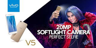 spesifikasi Vivo V5, si Perfect Selfie Smartphone
