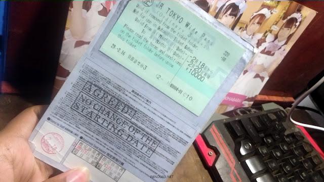Tiket Tokyo Wide Pass