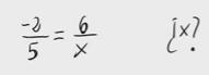 9.       Cálculo de valores para que dos fracciones sean equivalentes