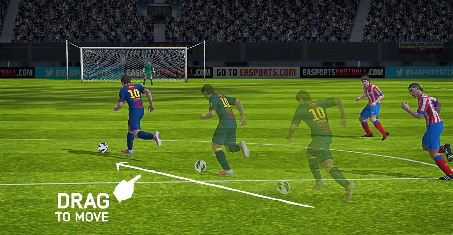 Cyberfoot 2014 indir apk android
